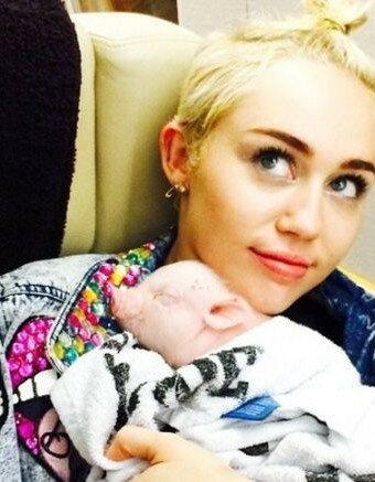 El cerdito de Miley Cyrus en las redes sociales