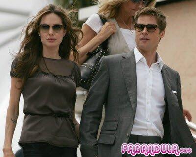 Angelina Jolie y Brad Pitt distanciados por boda