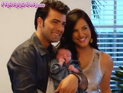 Jencarlos Canela y Gaby Espino presentan a su hijo