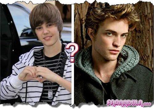 Justin Bieber y Robert Pattinson se enfrentan